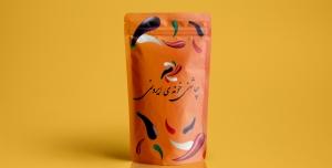 Irooni 300x152 - فایل لایه باز موکاپ بسته بندی محصولات غذایی