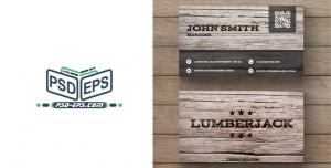 طرح آماده کارت ویزیت چوبی ویژه نجاری ها و تعمیرات مبلمان لایه باز طرح چوب