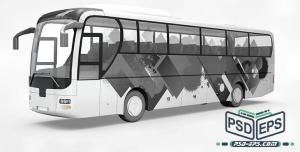 PSD8 1 300x152 - موکاپ اتوبوس حرفه ای تبلیغات روی اتوبوس مسافربری یا حمل و نقل عمومی شهری بی آر تی brt