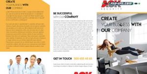لایه باز بروشور خلاقانه معرفی خدمات بازرگانی و مشاوره تجارت و بازاریابی یا کاتالوگ همکاری در فروش و مشارکت تجاری شرکتی