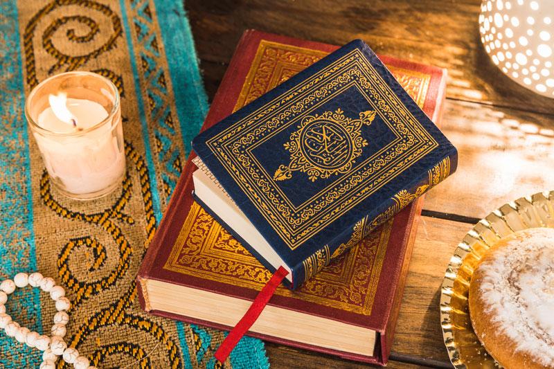 عکس ماه رمضان با قران