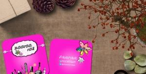 کارت ویزیت لایه باز کاشت ناخن دیزاین ناخن کاور ناخن زیبایی ناخن ویژه آرایشگاه زیبایی بانوان
