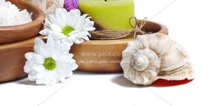 Beauty 79 300x152 - تصویر گل و حوله ویژه زیبایی بانوان به همراه لوازم ماساژ