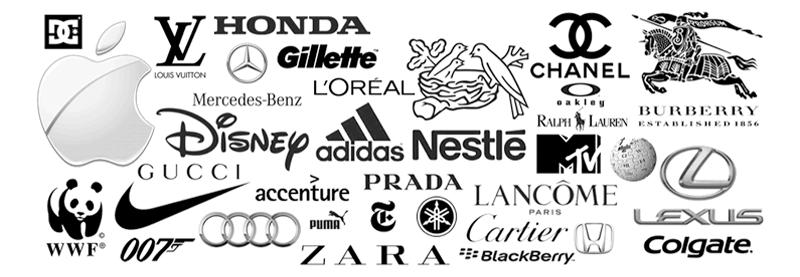 examples black logos - رنگ ها را بهتر بشناسیم / روانشناسی رنگ ها