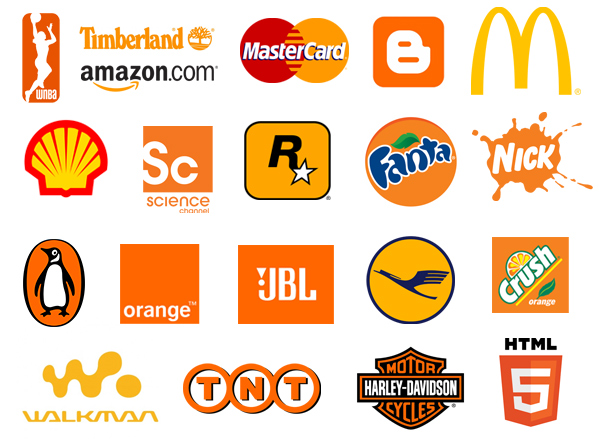famous orange psd eps.com  - رنگ ها را بهتر بشناسیم / روانشناسی رنگ ها