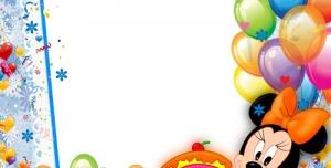 p28 300x152 - قاب و عکس و فریم کودکانه میکی موس با طرح جشن تولد بصورت لایه باز مناسب مهد کودک و پیش دبستانی و دبستان + PSD