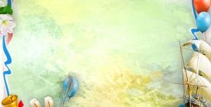 p29 300x152 - قاب و عکس و فریم کودکانه کشتی بادبانی و دوات مرکب و قلم پر و نامه با طرحی شاد بصورت لایه باز مناسب مهد کودک و پیش دبستانی و دبستان + PSD