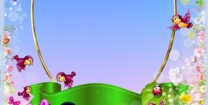 قاب و عکس و فریم کودکانه میکی موس با طرحی شاد بصورت لایه باز مناسب مهد کودک و پیش دبستانی و دبستان + PSD