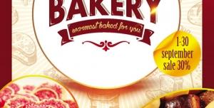p60 300x152 - تراکت و پوستر لایه باز نانوایی صنعتی و کیک پزی + PSD