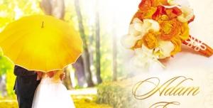تراکت و پوستر لایه باز کارت دعوت عروسی بسیار زیبا + PSD