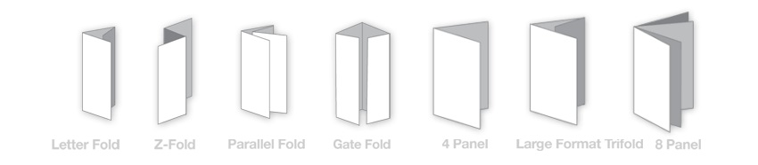 psd eps.com 3 - ابعاد استاندارد و نحوه مختلف تا کردن بروشور