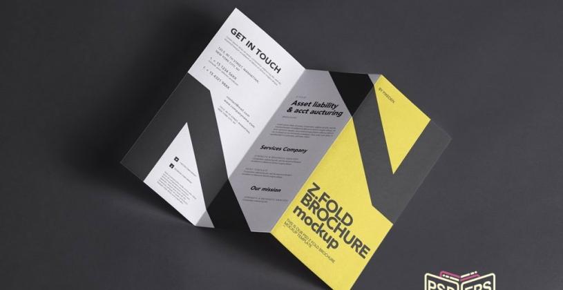 نکات طراحی بروشور سه لت حرفه ای