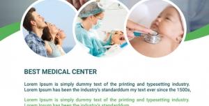051 psd A4 CMYK 300dpi 300x152 - طرح لایه باز تراکت خدمات درمانی بهداشتی مطب دندانپزشکی درمانگاه خانه سلامت پایگاه سلامت مرکز درمانی با بهترین خدمات