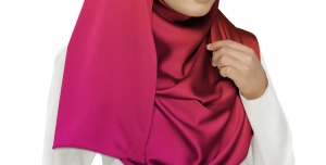 لایه باز موکاپ شال مقنعه روسری مقنعه لبنانی پوشش اسلامی مقنعه اسلامی در رنگ های خاکستری طوسی قرمز