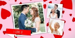 106 1 psd A4 RGB 300dpi1 300x152 - قاب ، فریم و فون عکس لایه باز مناسب تصاویر عروسی و عروس و داماد با زمینه قلب