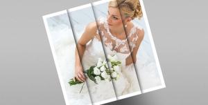 121 2 psd A4 RGB 300dpi 300x152 - موکاپ لایه باز عکس عروسی مربعی مورب با چهار قاب با امکان درج عکس در آنها