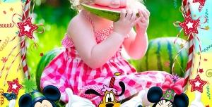 134 1 psd A4 RGB 300dpi 300x152 - قاب ، فریم و فون عکس لایه باز مناسب تصاویر جشن تولد کودکان با رنگ های شاد و تصاویر انیمیشن
