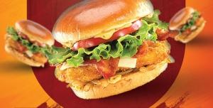 تراکت و پوستر لایه باز تبلیغاتی یا منوی فست فود و ساندویچ فروشی با لیست قیمت و عکس انواع ساندویچ و فست فود های خوشمزه