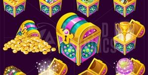 گنجینه و سکه های طلا