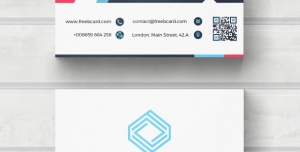 کارت ویزیت لایه باز شخصی با رنگ های متنوع
