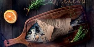 پوستر و تراکت تبلیغاتی بسیار زیبا جهت رستوران غذاهای دریایی با سبکی خاص و ویژه