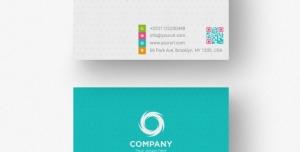 کارت ویزیت لایه باز شخصی برای کارمندان و مدیران به رنگ فیروزه ای و توسی