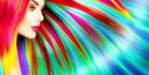 254 JPG 6500x3200 72dpi 300x152 - عکس با کیفیت زنی با موهای رنگارنگ مناسب تصویر آواتار و پروفایل بانوان یا تبلیغات آرایشگاه های زنانه