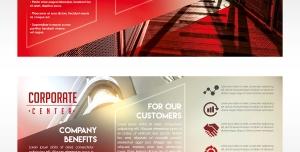 289 psd A4 CMYK 300dpi 300x152 - بروشور سه لت لایه باز شرکت های بزرگ بازرگانی بین المللی دارای شخصیت حقوقی با رنگ غالب قرمز