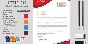 323 1 psd ai doc pdf A4 CMYK 300dpi 300x152 - سربرگ اداری لایه باز با طرح موج در سه رنگ قرمز ، نارنجی و آبی در چهار فرمت psd , ai ، doc ، pdf