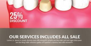 38 1 psd A4 cmyk 300dpi1 300x152 - بروشور یا تراکت تبلیغاتی لایه باز کلینیک تخصصی دندان پزشکی ، ایمپلنت ، کاشت و مراقبت از دندان