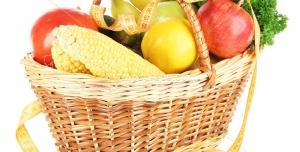 عکس با کیفیت سبد میوه ، سبزی جات و سیفی جات مختلف مناسب شب یلدا
