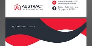 کارت ویزیت لایه باز تبلیغاتی شخصی با کاربرد تجاری و سبک مدرن در چهار رنگ بندی