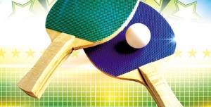 تراکت و پوستر لایه باز ورزش پینگ پنگ + PSD
