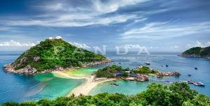 px6 300x152 - عکس و تصویر با کیفیت بالا و زیبای منظره دریا و جزیره