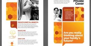 بروشور یک لت لایه باز آموزشی سلامت و بهداشت خانواده و خدمات درمانی و مراقبتی مراکز بهداشت