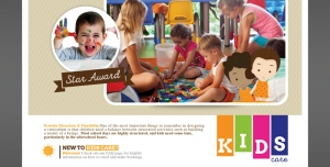 250 1 Ai psd A5 CMYK 300dpi 300x152 - تراکت یا پوستر لایه باز تبلیغاتی بازی گروهی کودکان در مهدکودک با اسباب بازی