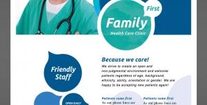253 1 Ai psd A5 CMYK 300dpi 300x152 - بروشور یک لت یا پوستر لایه باز تبلیغاتی پزشک عمومی یا پزشک خانواده با امکان درج تصویر پزشک و توضیحات