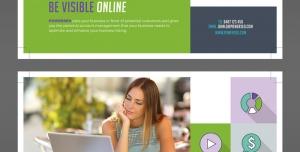 تراکت تبلیغاتی لایه باز اپراتورهای اینترنت ثابت و همراه ، شرکت های ارائه دهنده اینترنت پرسرعت