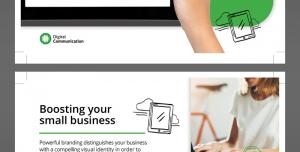 پوستر یا تراکت تبلیغاتی لایه باز اپراتورهای اینترنت پرسرعت ثابت و همراه و شرکت های ارائه دهنده اینترنت پرسرعت