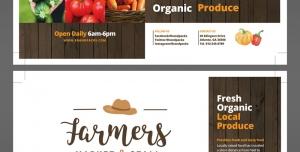 تراکت یا پوستر لایه باز سیفی جات و کشاورزی با روش های نوین کاشت و برداشت مدرن