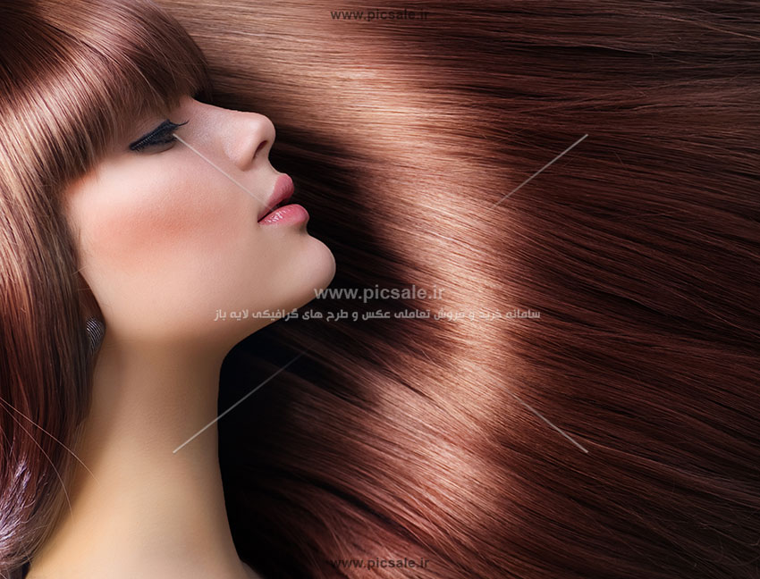 Beauty 607 - عکس با کیفیت زن با موهای براق و صاف + تخفیف ویژه به مناسبت عید تا عید