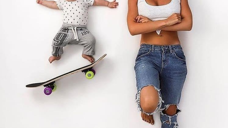 عکس های خلاقانه مادر و نوزاد ویژه مادران و کودکان دلبندشان