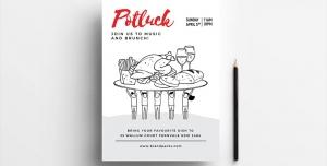 تراکت لایه باز تبلیغاتی رستوران ها و فست فود ها و ساندویچی ، کترینگ ، آشپزخانه با تصاویر مرغ و سیب زمینی سرخ کرده