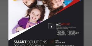 پوستر لایه باز تبلیغاتی کودکان با نماد حروف الفبای انگلیسی مناسب مهدکودک ها ، پیش دبستانی ها و موسسات آموزش زبان انگلیسی برای کودکان