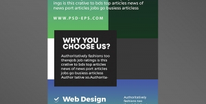 دانلود رایگان استند یا رول آپ بنر لایه باز تبلیغاتی آبی و سبز رنگ شرکت های ایده پردازی ، برنامه نویسی و طراحی سایت خلاقانه و مدرن