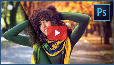 فیلم آموزش تبدیل عکس های معمولی به تصاویر پاییزی و زیبا با فتوشاپ
