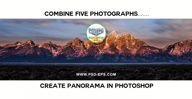 فیلم آموزش ایجاد تصویر پاناروما با ترکیب چند عکس مجزا در فتوشاپ با کیفیت HD