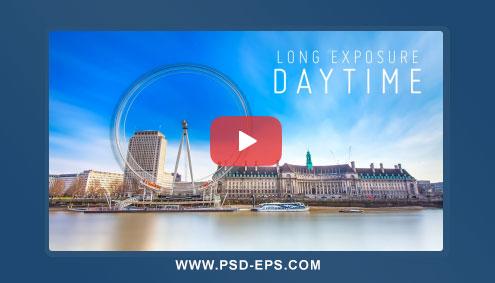 فیلم آموزش فتوشاپ ایجاد افکت جذاب بلور کردن امتداد حرکت اجسام دورانی نظیر چرخ و فلک + Long Exposure Shots