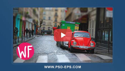فیلم آموزش مینیمال کردن تصاویر یا عروسکی کردن عکس ها با فتوشاپ