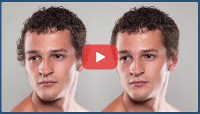 فیلم آموزش فتوشاپ آرایش مو سر و حذف موهای اضافه یا اصلاح موی سر